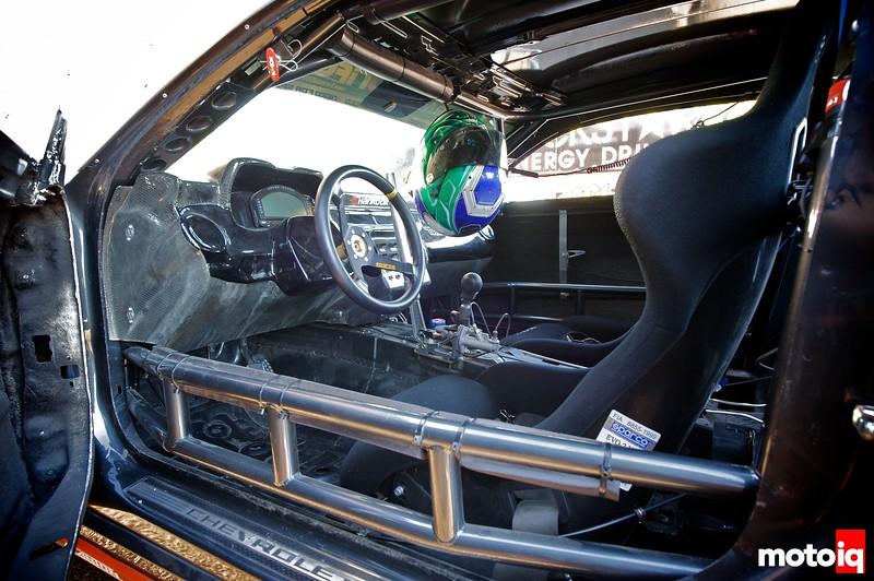 Conrad Grunewald camaro drift car