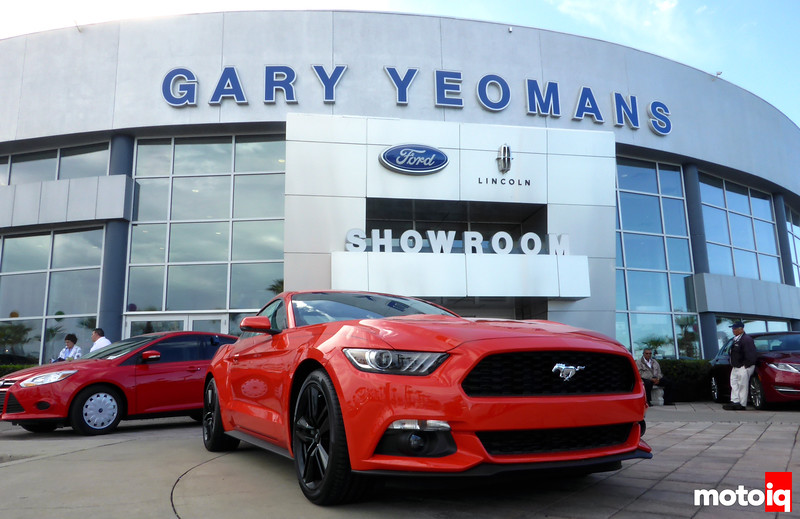 Gary Yeomans Ford Front
