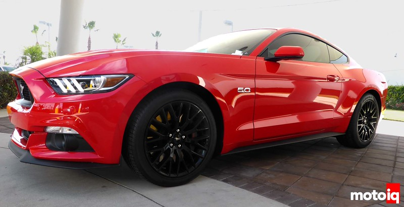 Front angle 2015 Mustang