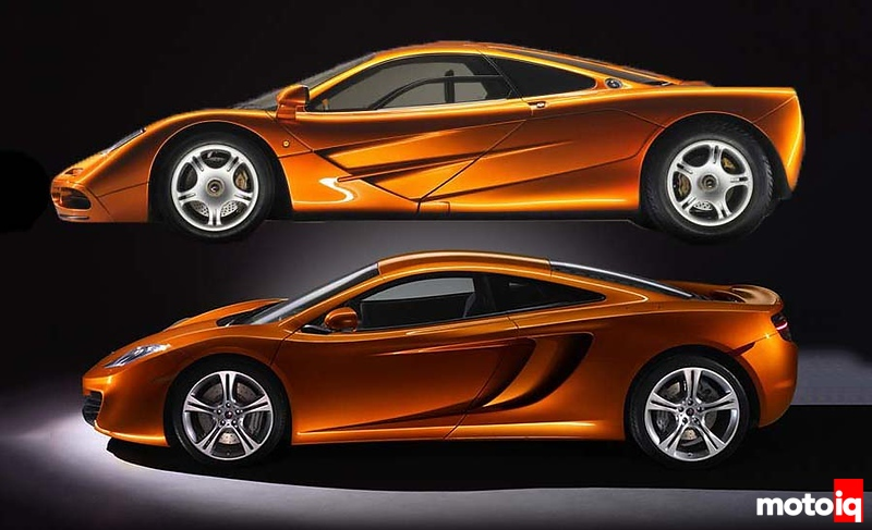 McLaren F1 and 12C