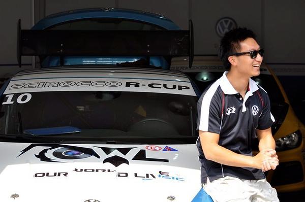 David Cheng Scirocco R-Cup