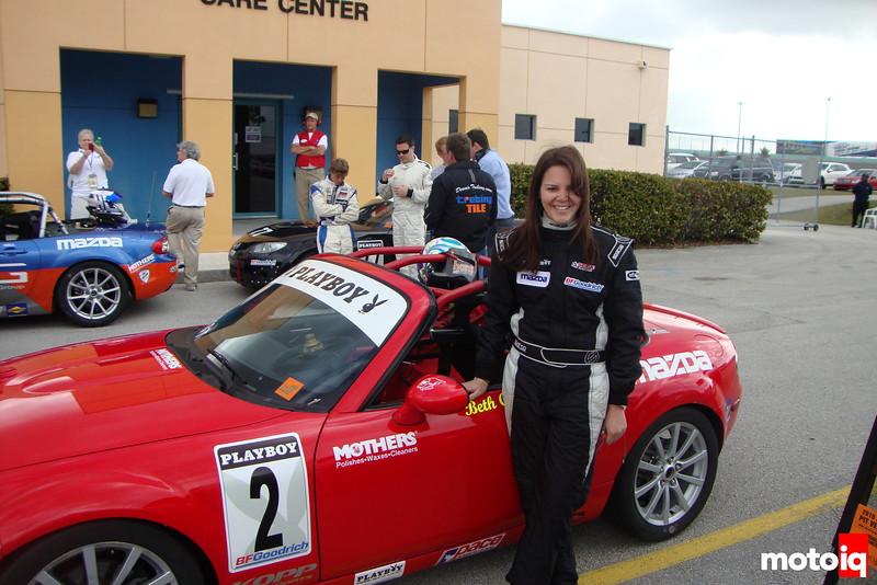 Beth Chryst Mazda Miata