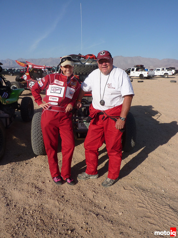 Emme Hall and Larry Hall