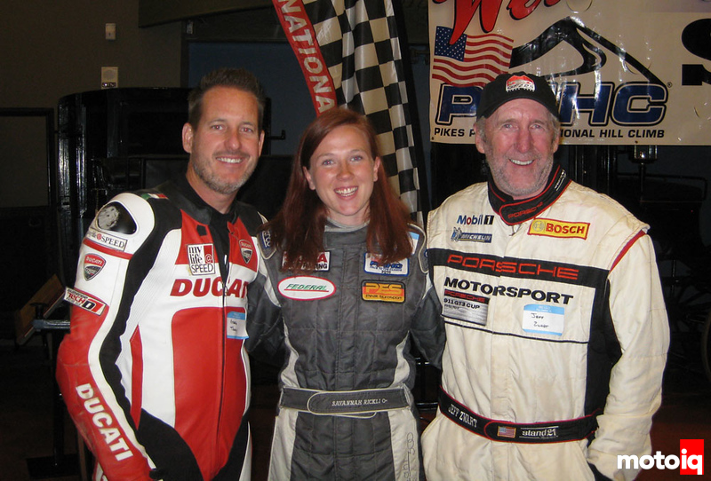 Savannah Rickli, Jeff Zwart, Greg Trachy