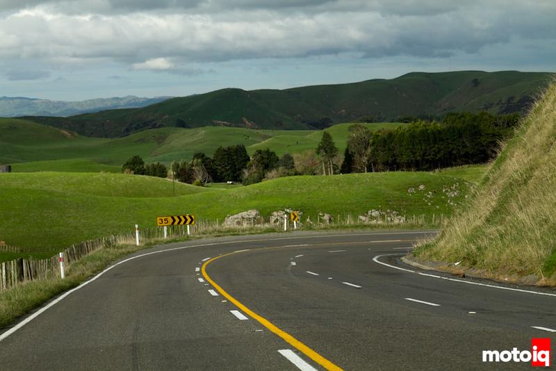 NZ mountain road