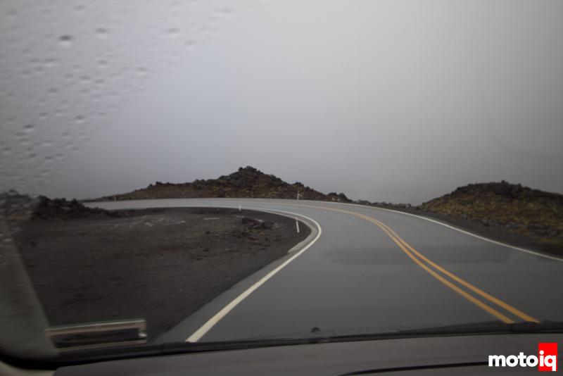 NZ volcano road