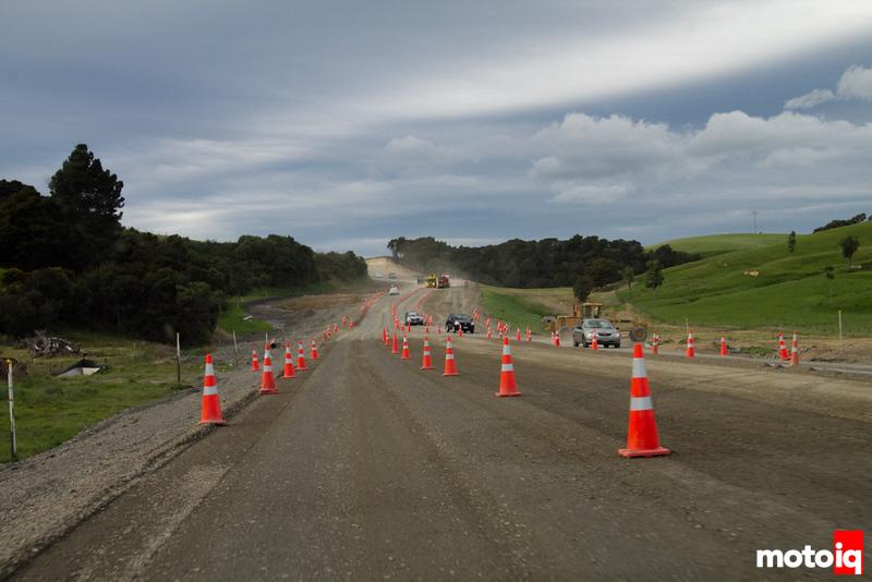 North Island New Zealand construction