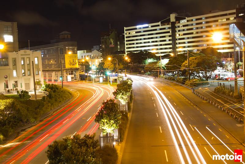 Wellington traffic lights