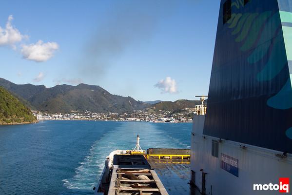 Picton to Wellington Interislander Ferry