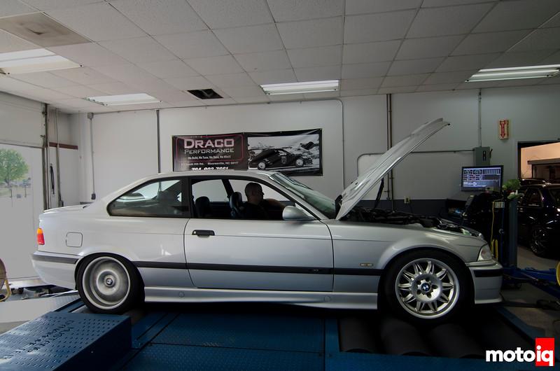 E36 BMW stock Dyno