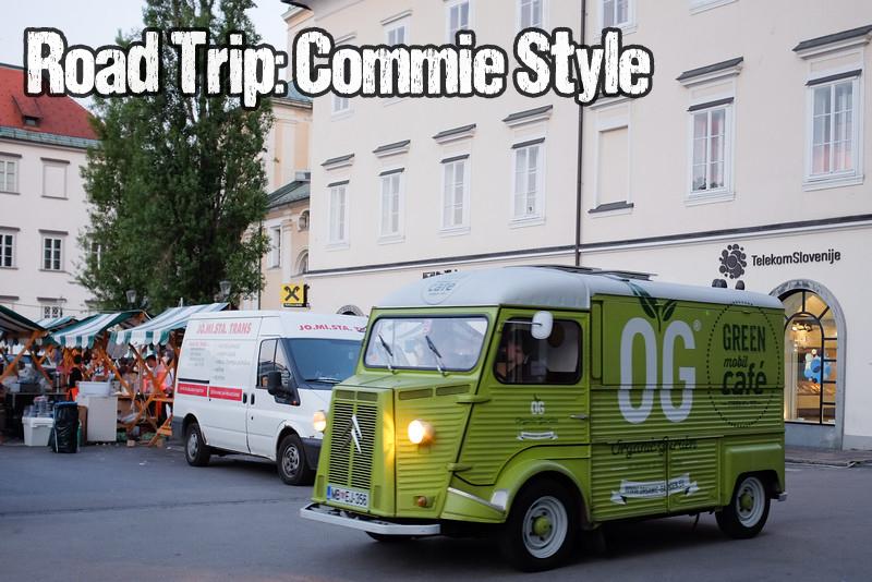 Ljubljana food truck