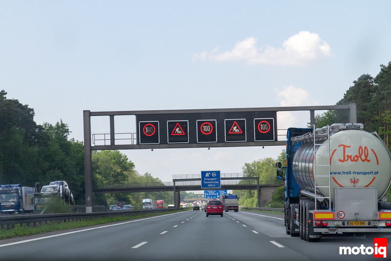 autobahn speed limits