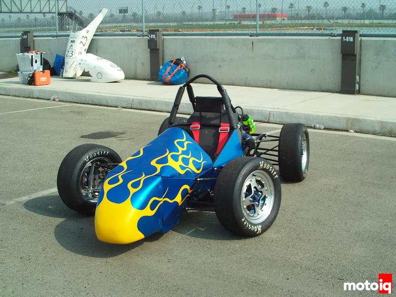 UD's 2008 SAE car