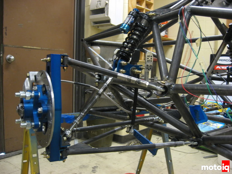 Fully fabricated suspension