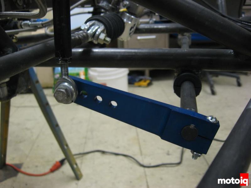 Formula SAE  adjustable swaybar