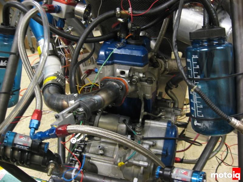 YFZ450 engine