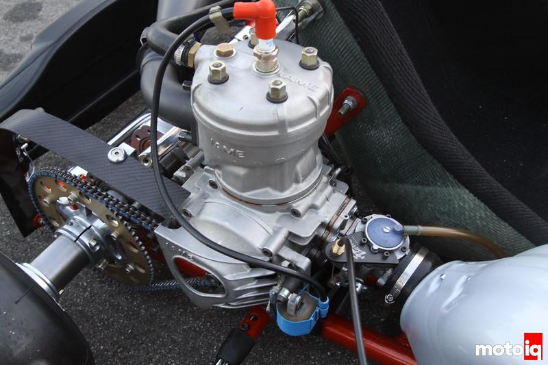 the two stroke 125cc parilla