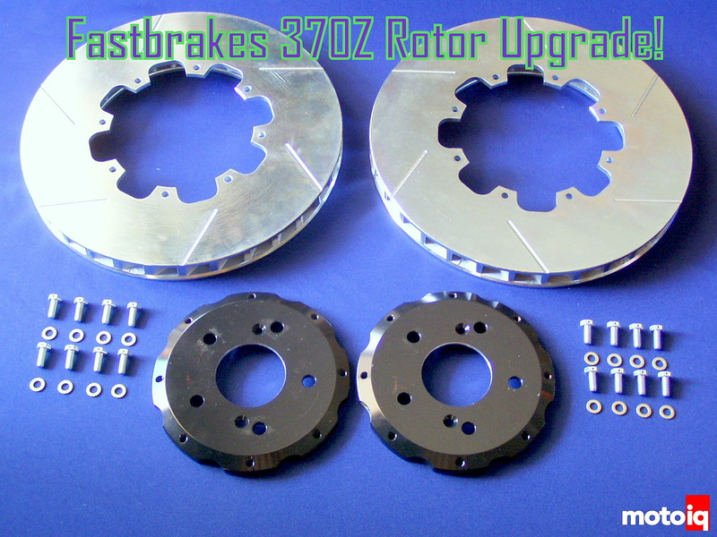 Fastbrakes Nissan 370Z two piece rotors