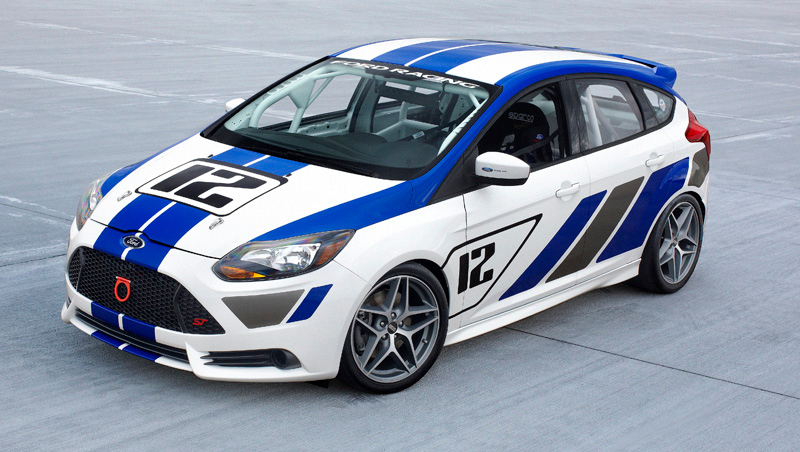 FRANKFURT, Germany, September 12, 2011 - The all-new Focus ST-R has been crafted by engineers at Ford Racing - with technical support from Ford's Global Performance Vehicles group - to allow it to compete in a huge variety of series, including Grand-Am ST, World Challenge TC and Canadian Touring Car Series. (09/13/2011)