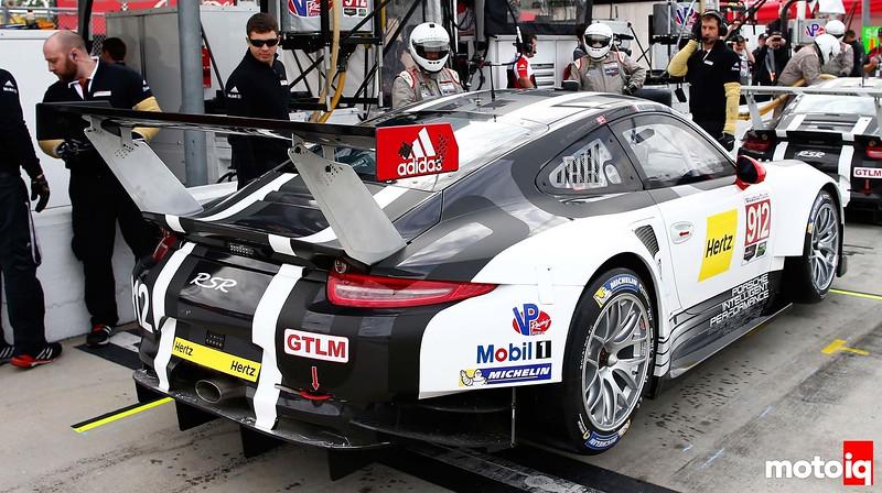 Porsche 911 RSR, Porsche North America: Earl Bamber, Frederic Makowiecki, Michael Christensen