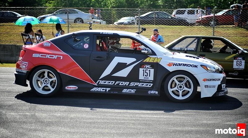 Fredric The Great, a Look Inside the Papadakis Racing Scion tC of Fredric Aasbo
