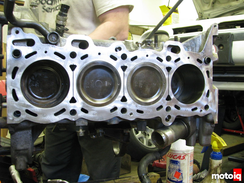GTiR Pistons