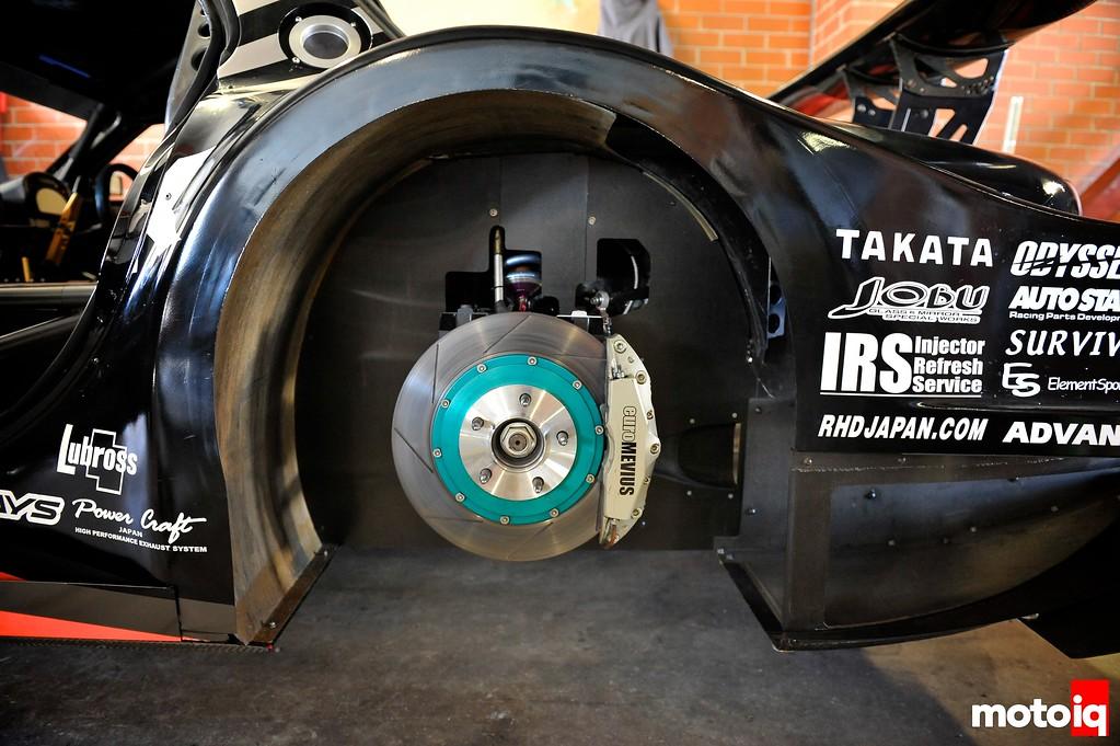garage revolution fd rear brakes