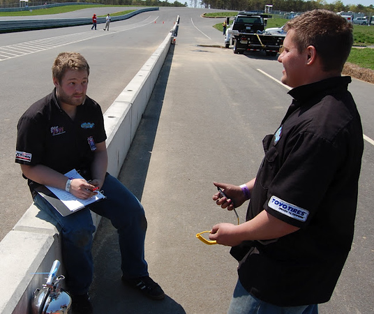 Professional Awesome Crew Mike Lewin Grant Davis New Jersey Motorsports Park