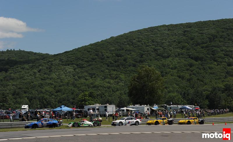 ALMS multi class racing
