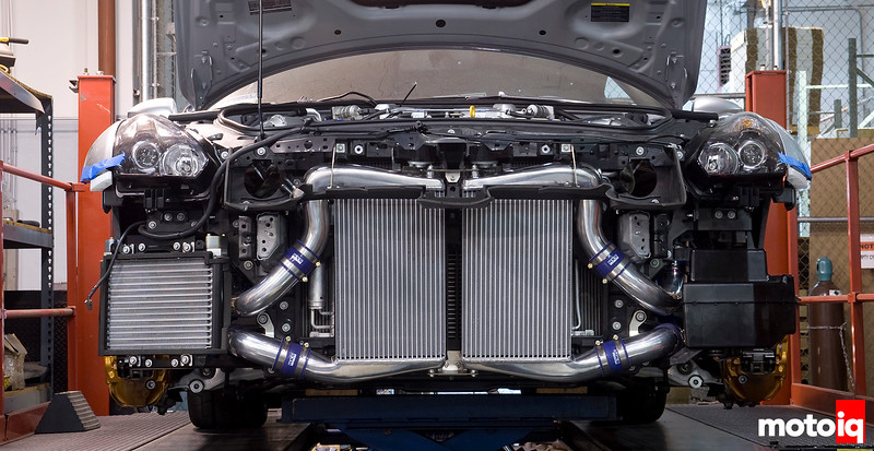 HKS R35 front mount GTR intercooler