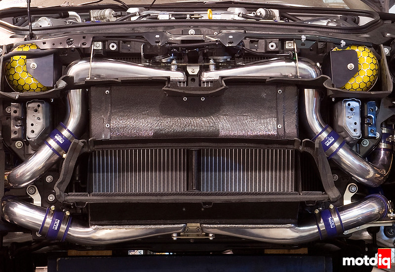 HKS Front mount intercooler for the R35 GT-R