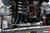 Levin: Engine bay, closer shot. Oil catch, Yashio (Top Fuel Radiator, 70mm trumpets, AE111, 4A-GLEU