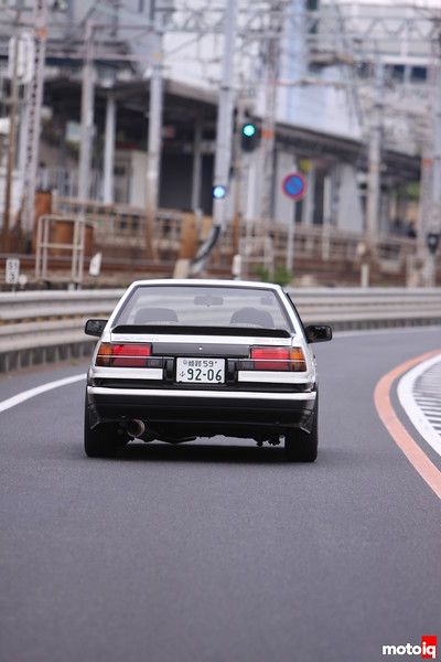 Levin: Rear adjacent to Kobe-train-line