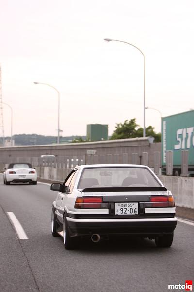 Levin: Rear Left Highway + S2000