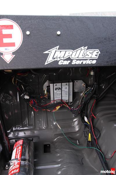 DTA Fast ECU and Impulse Custom Sheet Metal Dash.