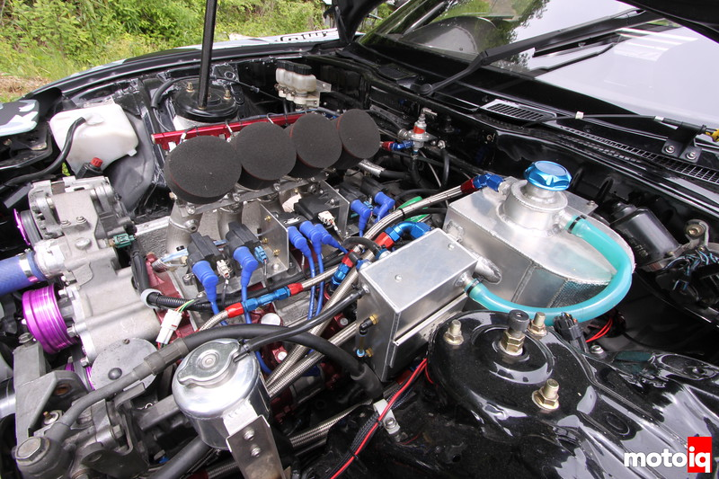Quad Throttle of a Toda Variety originally intended for a S2000. 4-Rotor, FD3S, RX-7.