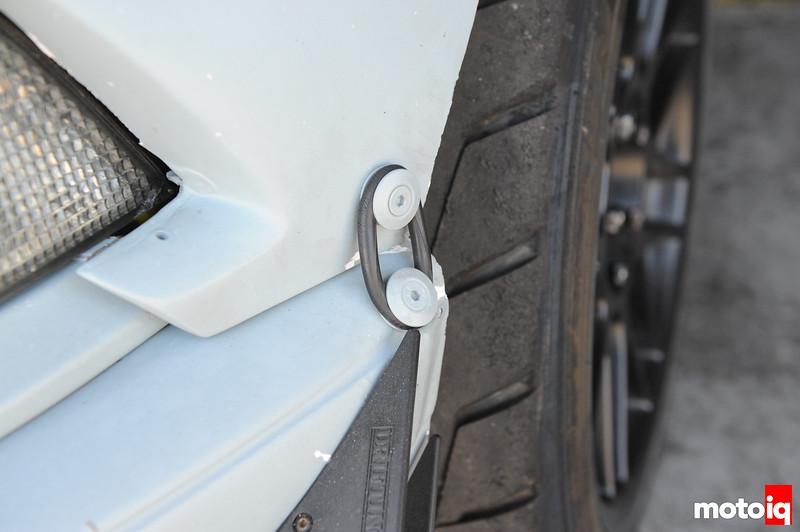 BMW front bumper secured E36