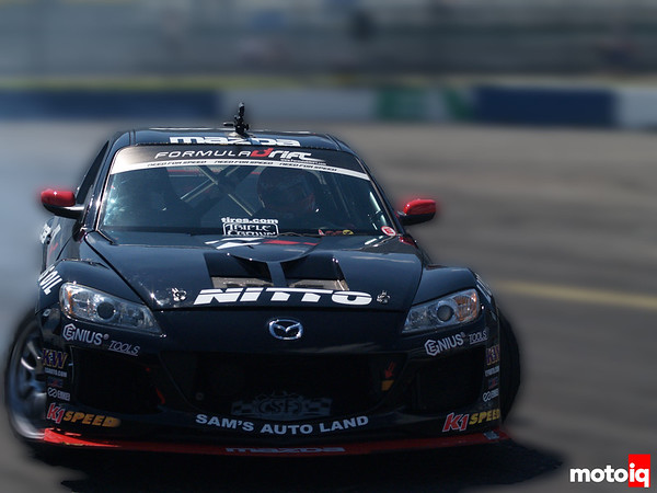 Car Number 51, Joon Maeng and his Mazda RX-8