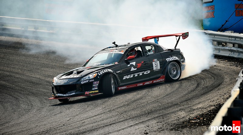 The Story Behind the Bergenholtz Racing 2009 Mazda RX8 Formula D Pro Drift Car