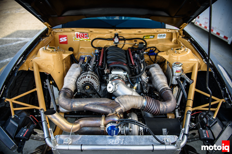 Chevrolet LM7 5.3L in the Mustang engine bay