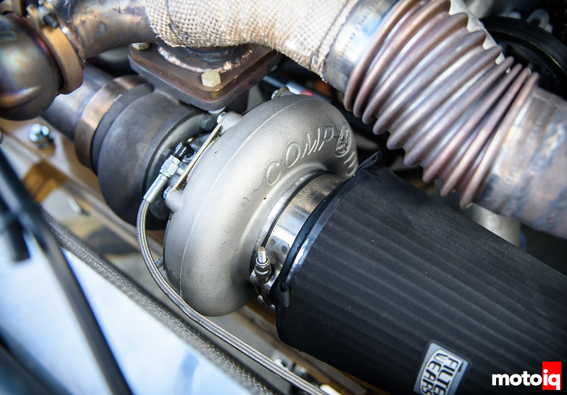 76mm Comp turbo and air filter