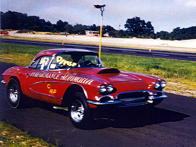 Dick Moroso's Corvette Drag Car