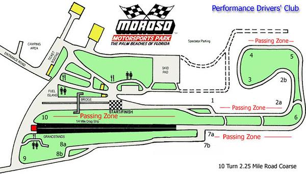 Moroso Motosports Park