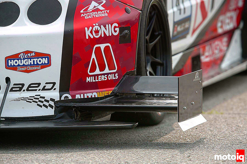 Spage Sports - front wing