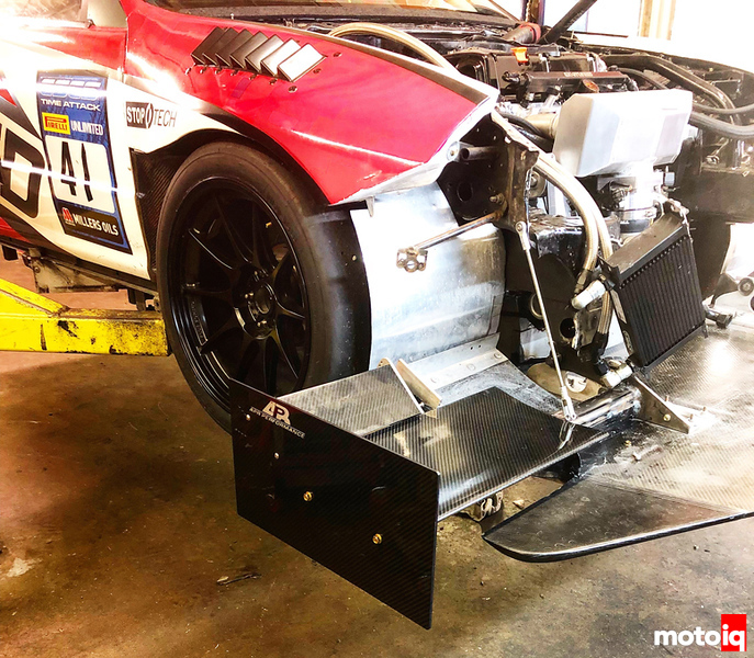 Spage Sport - splitter and wing