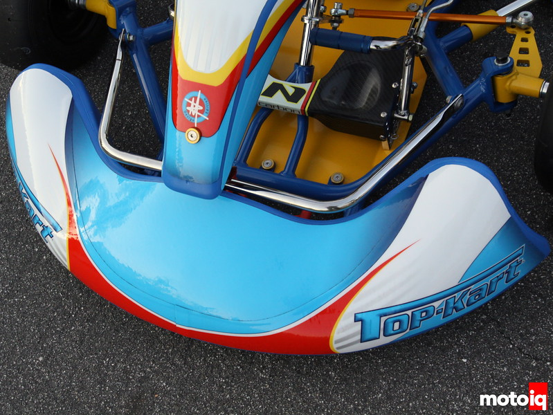 Top Kart nose section