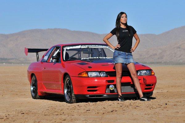 Keryann De La Cruz and her R32 GT-R