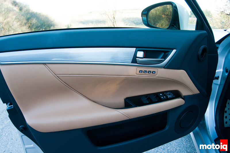 2013 Lexus GS 350 F Sport, seat presets