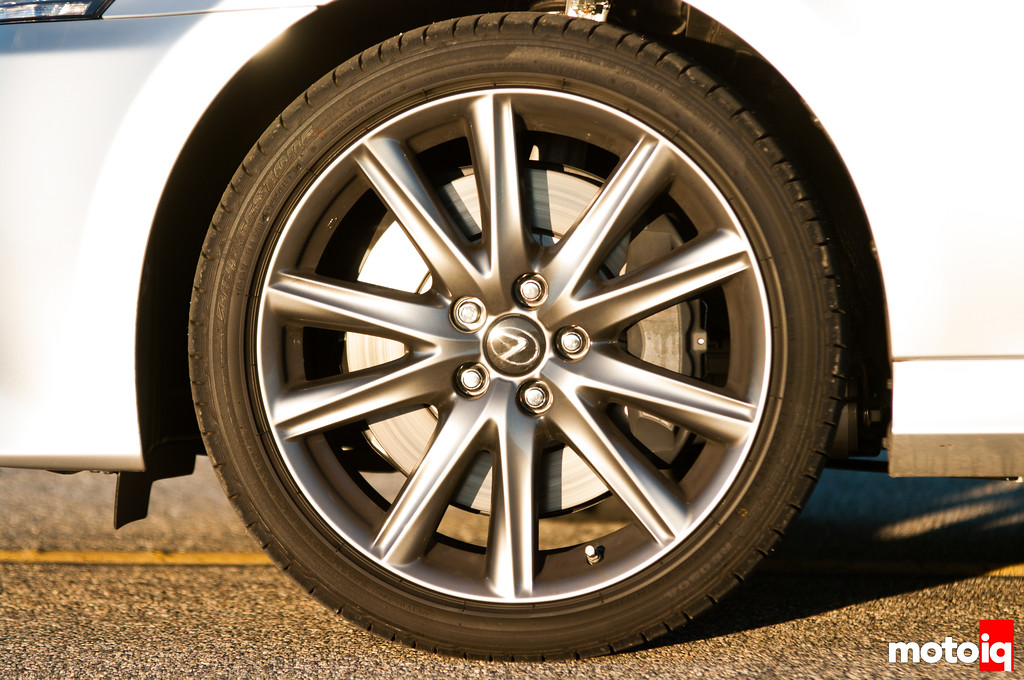 2013 Lexus GS 350 F Sport, brakes, wheels, tires