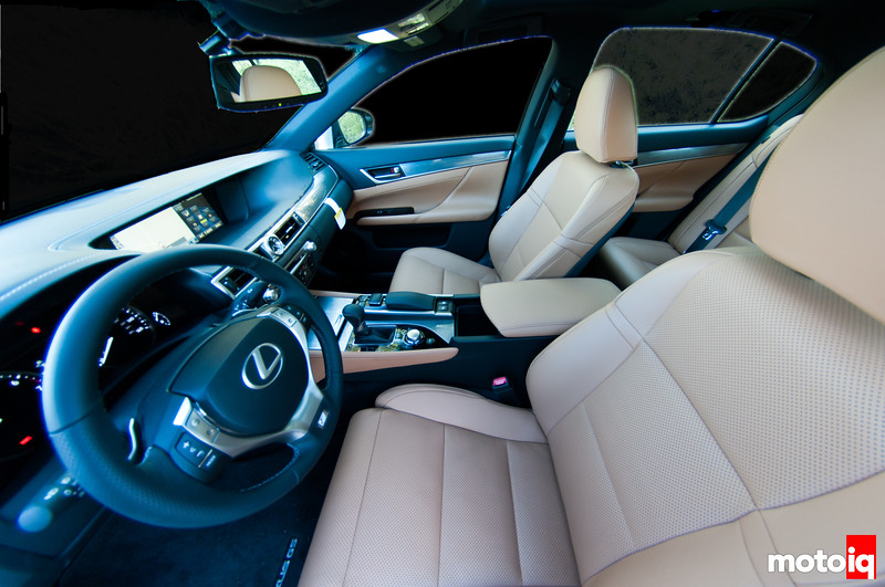 2013 Lexus GS 350 F Sport, interior, leather, seats
